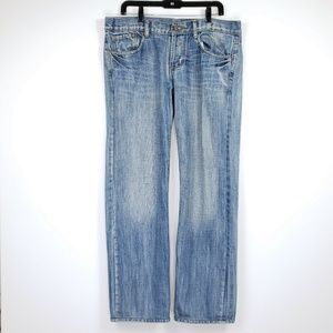 7 for all mankind size 34 straight leg jean